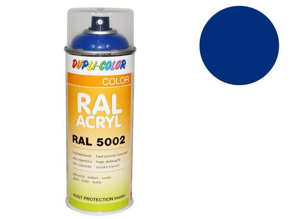 10064790 Dupli-Color Acryl-Spray RAL 5005 signalblau, glänzend - 400 ml - Bild 1