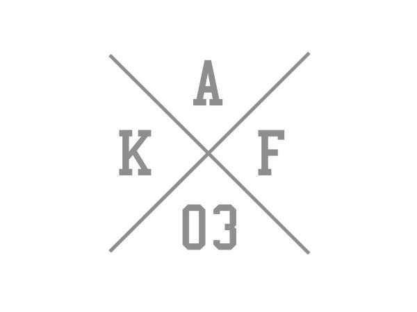 "10069148 Aufkleber - ""Kreuz AKF 03"" Folienplot Grau, mit Übertragungsfolie - Bild 1"