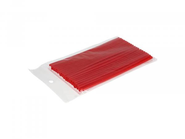 10069755 Set: 36x Speichen-Cover Rot, Speichenschutz, Länge 180mm - Bild 1