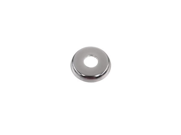 Protective cap for fixing passenger footrest KR51, KR51/1, KR51/2 chrome