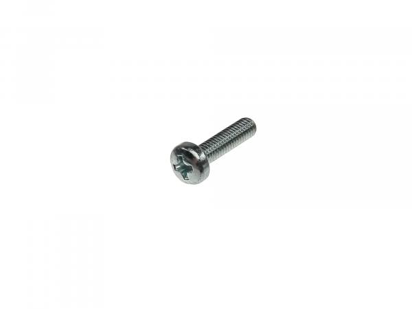 Oval head screw, cross recess M4x16 - DIN7985