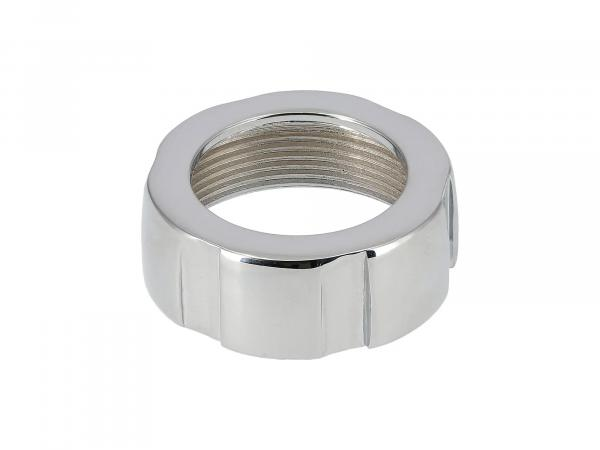 Elbow nut suitable for AWO tours chrome (Ø30)