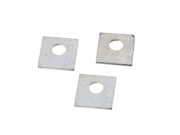 Set: 3 Sicherungsbleche für Tachometergehäuse - für BK350