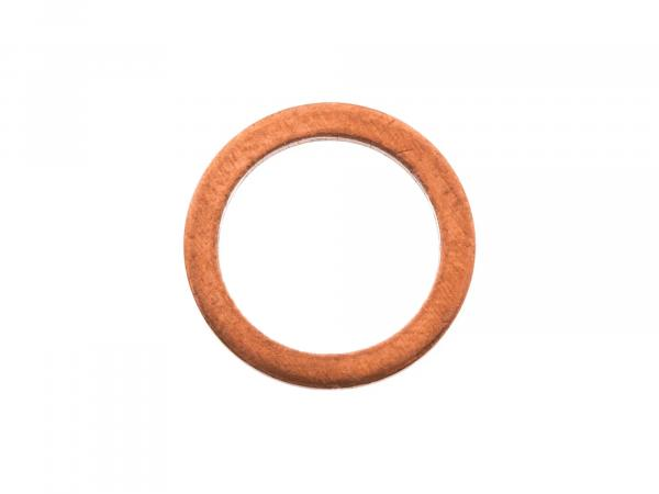 Copper sealing ring, for banjo bolt brake hose - for Simson S53, S83, SR50, SR80