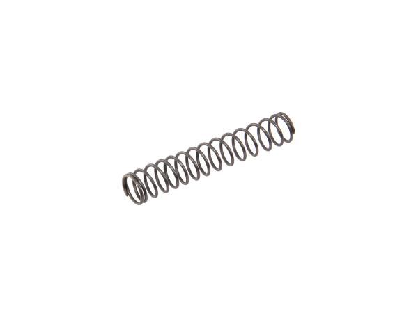 Druckfeder Kupplungsbetätigung, Kupplungszug mit Verschraubung, Länge: 47 mm - MZ ES175, ES250, ES300