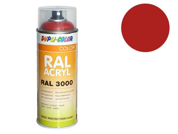 Dupli-Color Acryl-Spray RAL 3000 feuerrot, glänzend - 400 ml