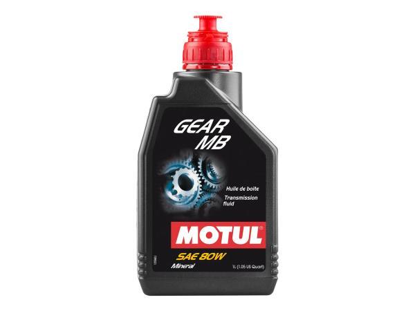 10055406 MOTUL GEAR MB  Getriebe SAE80 - Hypoidgetriebeöl -1 Liter - Bild 1