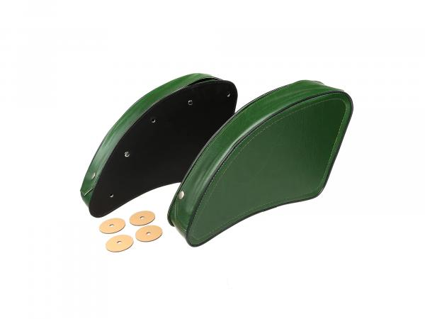 Set: Packbag green left/right - MZ ES175, ES175/1, ES250, ES250/1, ES300