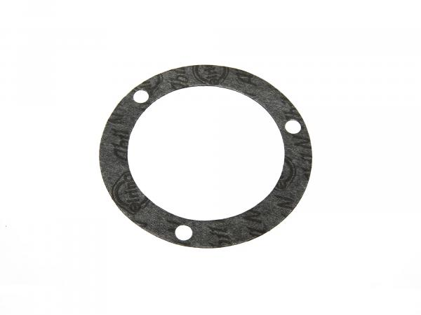Gasket for engine housing crankshaft - 3-hole - suitable for AWO 425T, 425S (Brand: PLASTANZA / Material ABIL)