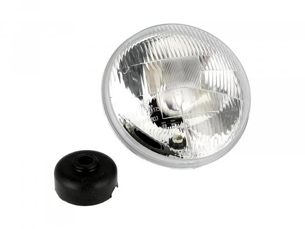 Headlight insert 12V H4, Ø178mm, 8709.15/2 halogen - MZ ES175/2, ES250/2