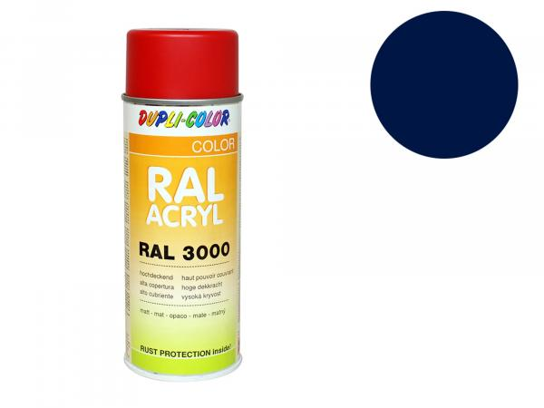 Dupli-Color Acryl-Spray RAL 5003 saphirblau, matt - 400 ml