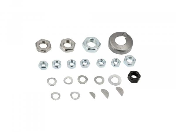 set of small parts for engine regeneration (22 parts) - for Simson SR1, SR2, SR2E, KR50