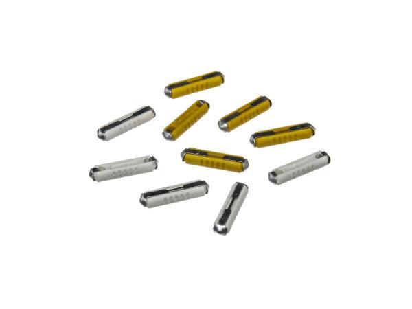 Set: 5 fuses 5A + 5 fuses 8A