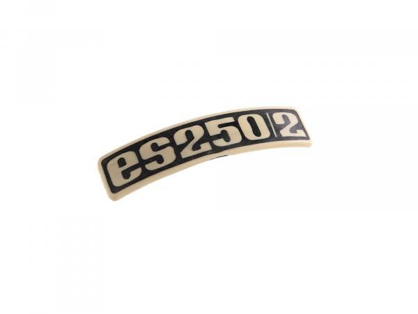 Nameplate - Badge - Badge for ES250/2 - Plastic
