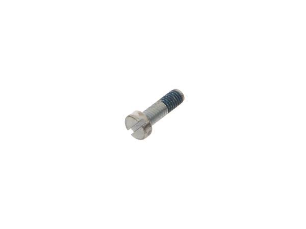 Zylinderschraube Schlitz, mit Klebesicherung M6x20 - DIN84