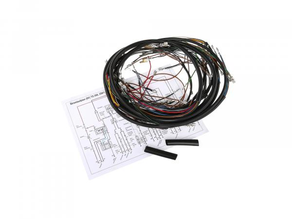 Cable harness set for TS250 de luxe