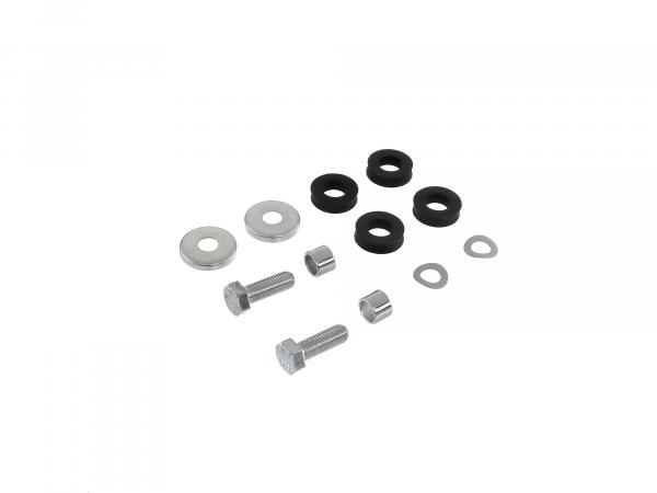 Set: hexagon screws passenger footrests passenger footrests Schwalbe KR51