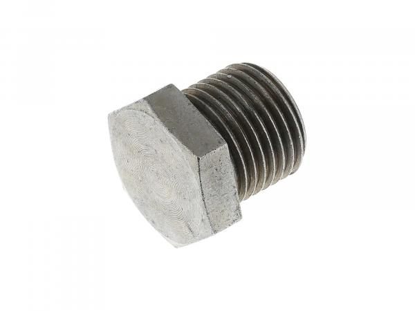 Threaded plug for shock absorber ES