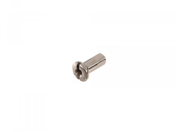 spoke nipple M4, nickel-plated - for MZ ETZ, TS, ES, AWO, RT125, BK350, EMW R35
