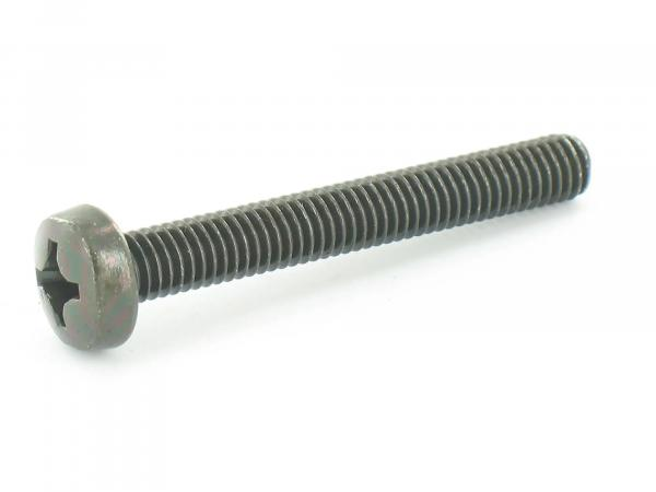 Oval head screw, cross recess M6x45 - DIN7985