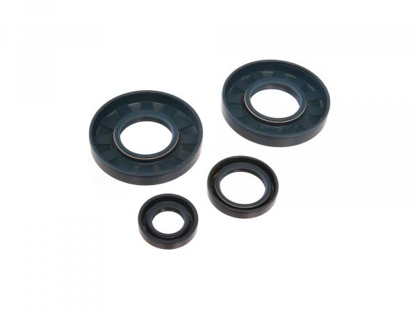 Set: shaft seals motor, blue, double lip - for MZ ES175/1, ES250/1, ES300