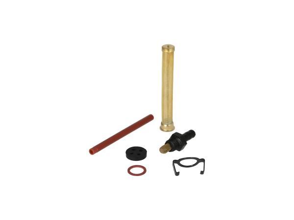 Set: Reparatur für DDR-Benzinhahn (Ø16mm, ohne Wassersack) - für Simson S50, S51, S53, S70, SR4-1 Spatz, SR4-2 Star, SR4-3 Sperber, SR4-4 Habicht