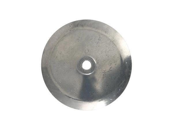 10069538 Deckel Radnabe vorn, aus Aluminium poliert - Bild 1