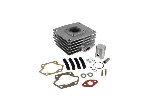 Set: Zylinder bearbeitet 50ccm + Kolben nachgedreht, 50ccm - für Simson S51, KR51/2 Schwalbe, SR50