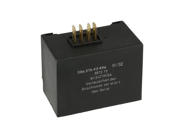 10068686 ELBA 6V 8871.10/1 - für Blinker 2 x 21W - Simson SR50 - Bild 1