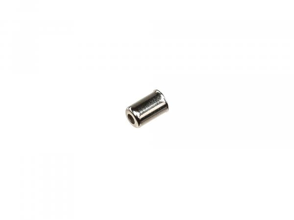 End cap for Bowden cable cover, Ø 2,5mm