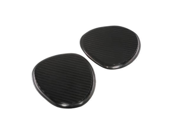 Knee cushion for tank (right + left) black TS250, TS250/1