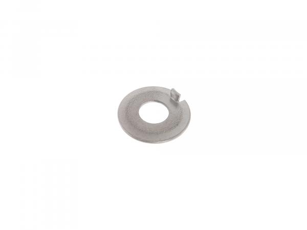 Locking plate 8.4 with nose - e.g. for bolts for coupling drum - MZ ETZ125, ETZ150