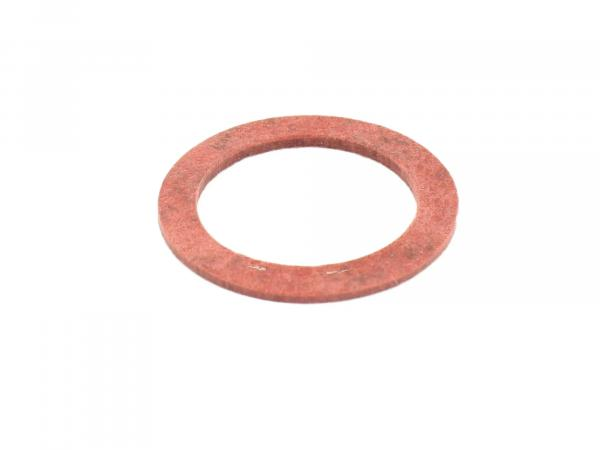 Gasket - Ø18x25 (red) for connecting piece suitable for carburettor AWO