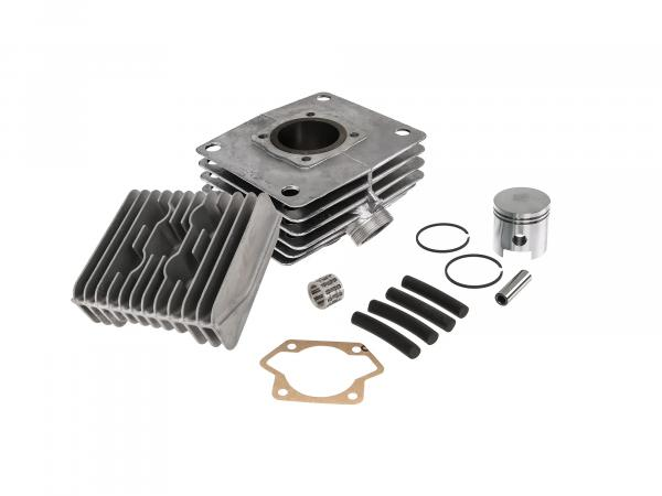 Set: cylinder + piston + head + needle bearing, 80ccm, strong liner - for Simson S70, S83, SR80