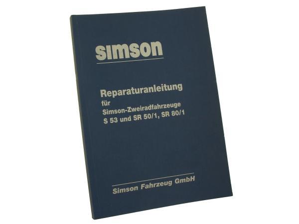 10063109 Buch - Reparaturanleitung Simson S53, SR50/1, SR80/1 Ausgabe 1989 (Schaltpläne integriert) - Bild 1