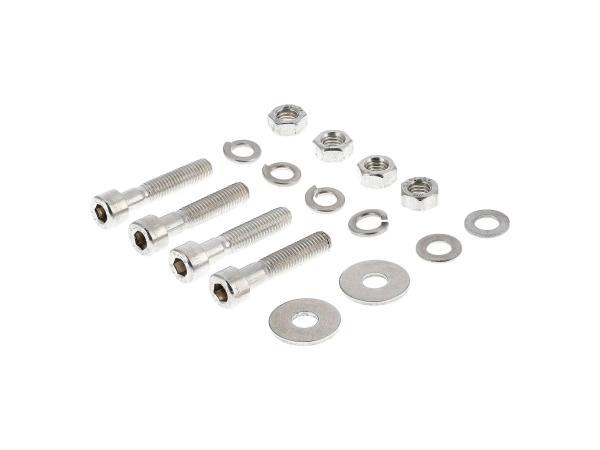 10001239 Set: Zylinderschrauben, Innensechskant in Edelstahl für Federbeine SR50, SR80 - Bild 1
