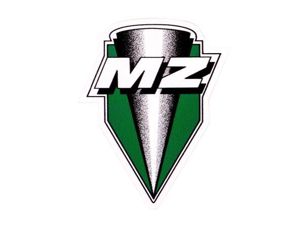 """Schriftzug (Folie) """"MZ"""" neue Form für Tank ETZ"""