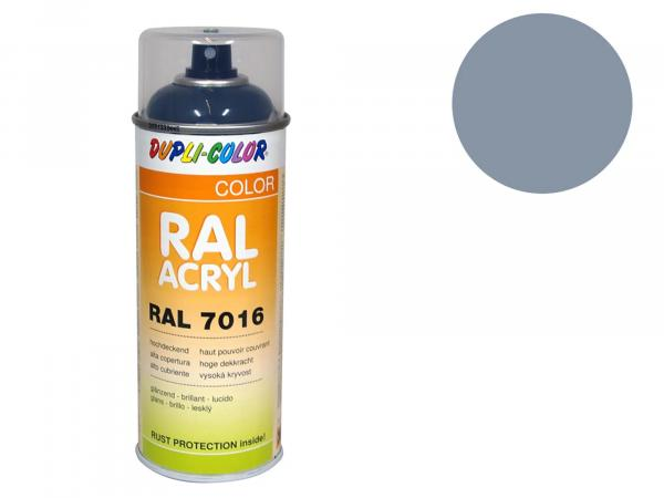 10064833 Dupli-Color Acryl-Spray RAL 7001 silbergrau, glänzend - 400 ml - Bild 1