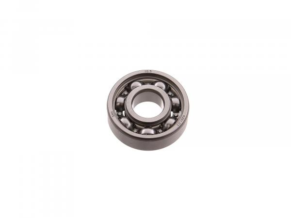 ball bearing 6201 C3, output shaft left - for Simson S50, KR51/1 Schwalbe, SR4-1 Spatz, SR4-2 Star, SR4-3 Sperber, SR4-4 Habicht - MZ ETZ, TS