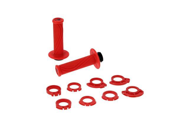 10070441 Lock-on Lenkergriffe Rot, für Schnellgasgriff - Bild 1