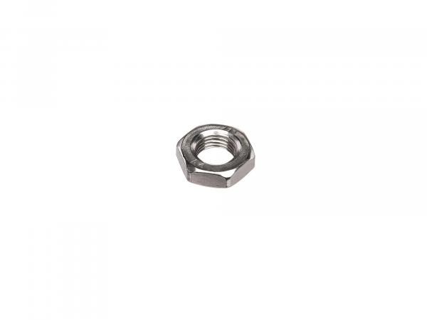 Hexagon nut M10x1 low form, in stainless steel - DIN936