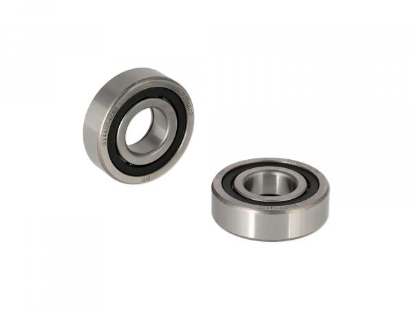 Set: 2x cylindrical roller bearing NUP204 ECP, sports crankshaft bearing - for Simson S51, S70, S53, S83, KR51/2 Schwalbe, SR50, SR80