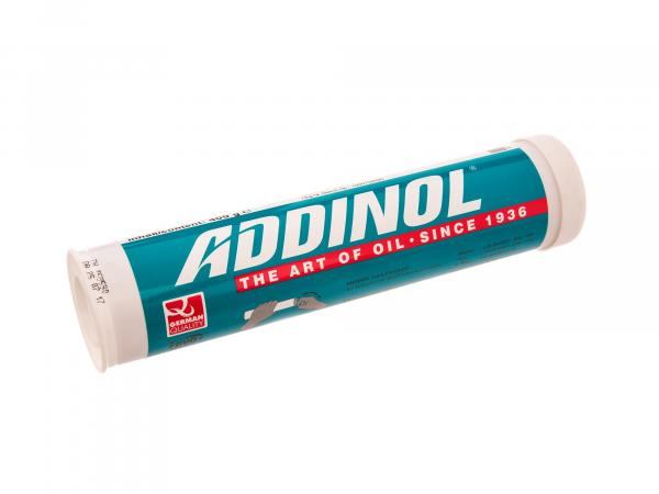 ADDINOL Hightemp EK2 grease cartridge (cartridge), multi-range grease up to 200 degrees, mineral oil based - 400g