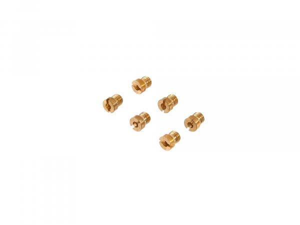 Set: Main nozzles (120-145) for BVF carburettor - Simson - MZ