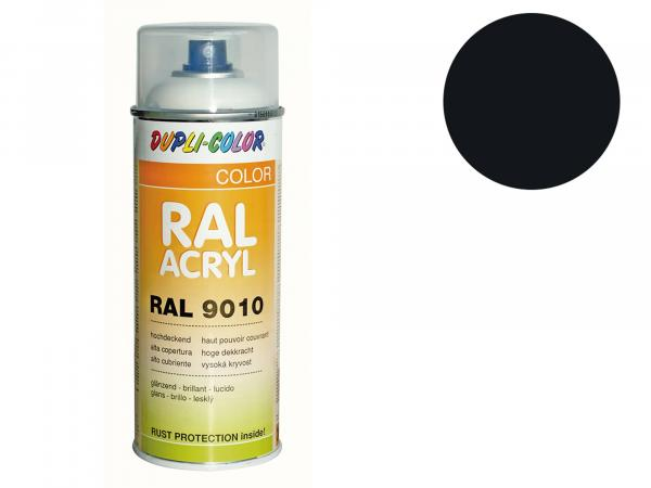 Dupli-Color Acrylic Spray RAL 9017 traffic black, glossy - 400 ml