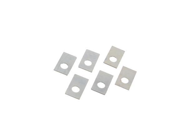 Set: 6x Sicherungsblech, Druckplatte - für BK350