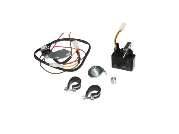 Elektronische Zündung ohne Lichtmaschine f. alle ETZ - umgekehrte Polarität - Bitte vorher nachfragen (Magnetfeldrichtung)  für Nachwende-Rotoren mit