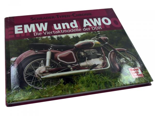 EMW and AWO - The four-stroke models of the GDR - Frank Rönicke
