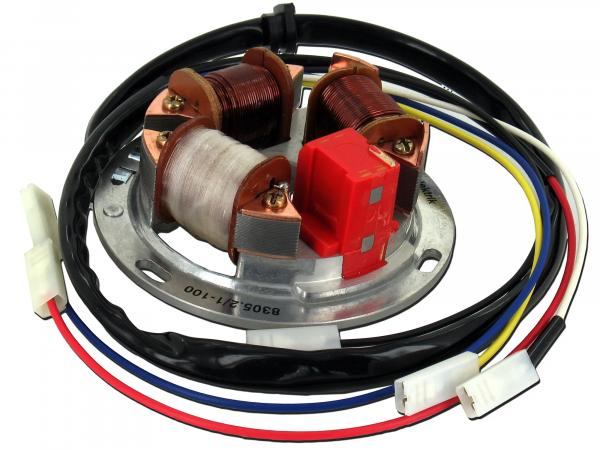 10001864 Grundplatte 8305.2/1-100, 12V Elektronik (42/21W Halogen) - Simson SR50, SR80 - Bild 1