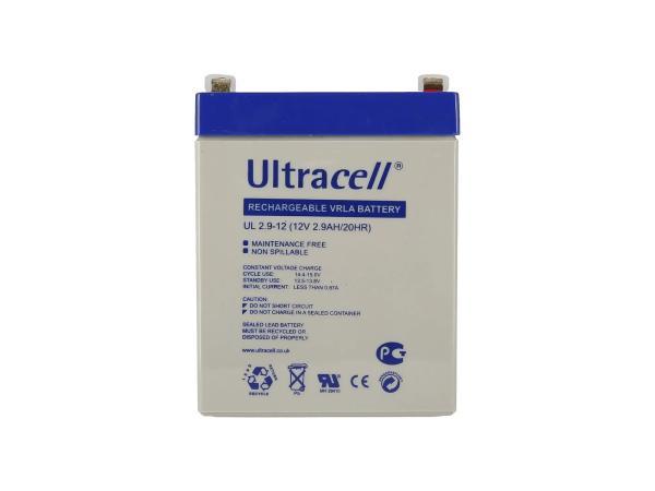10069173 Batterie - 12V 2,9Ah Ultracell (Gelbatterie) - Bild 1
